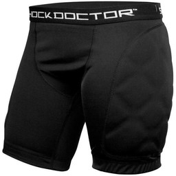 Shock Doctor Women's Double Compression Short with Pelvic Protector Pocket