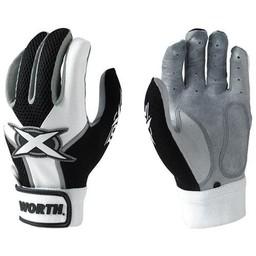 Worth Toxic Adult Batting Gloves