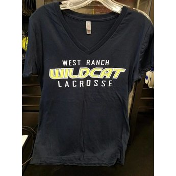 WRHS LAX LADIES VNECK