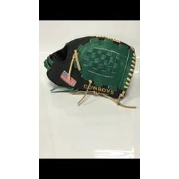 "Worth Liberty Advanced Custom 12.5"" Infielder Glove - LA125BB Cowboys Right Hand Throw"