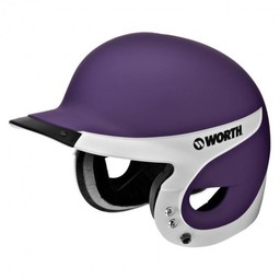 Worth Liberty Away Batting Helmet: Matte WLBHA