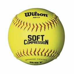 "Wilson Soft Compression 12"" Softball - 1 Dozen"
