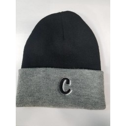 CHOPPERS  621K KNIT FOLD  BEANIE BLACK :ONE SIZE