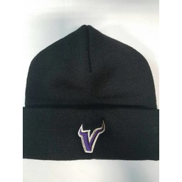 Valencia Baseball BLACK 621K KNIT FOLD BEANIE : ONE SIZE
