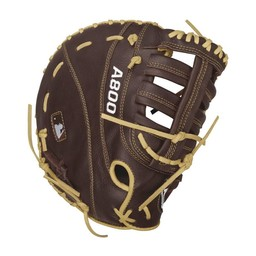 "Wilson A800 Showtime 12"" First Base Glove : WTA08RB16BM12"