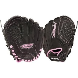 "Worth Fastpitch Storm FPEX Series 11"" Infielder Glove - FPX110PN"