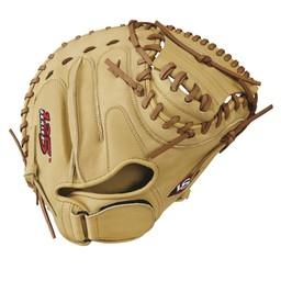 "Louisville Slugger 125 Series 33"" Catcher's Baseball Glove - Right Hand Throw WTL12RB17CM"