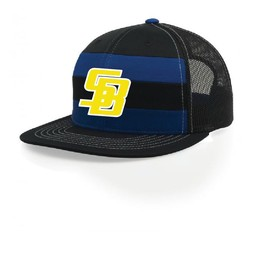 SBPP Richardson 162 Striped Mesh Cap Snapback
