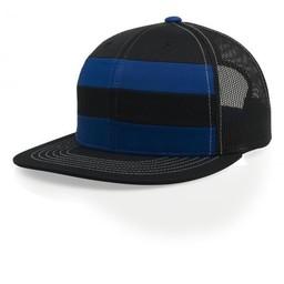 Richardson Striped Mesh Cap Snapback - 162