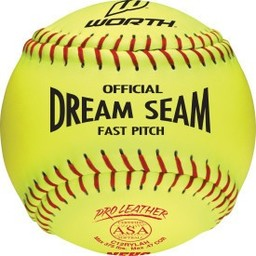 "Rawlings Dream Seam 12"" Softballs C12RYLAH - 1 Dozen"