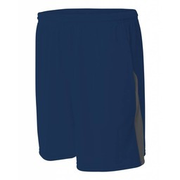 A4 Pocketed Color Block Short-N5005