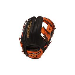 """Mizuno MVP Prime SE GMVP1154PSE4 Infield Glove - 11.5"""" 312258 Black/Orange RHT"""