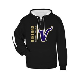 Valencia Baseball Badger Sideline Fleece Hood Adult  - 1456