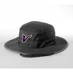 Valencia Baseball Richardson Wide Brim Bucket Hat 810 Black