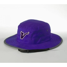 Valencia Baseball Richardson Wide Brim Bucket Hat 810 Purple