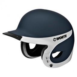 Worth Liberty Away Batting Helmet: Matte WLBHA