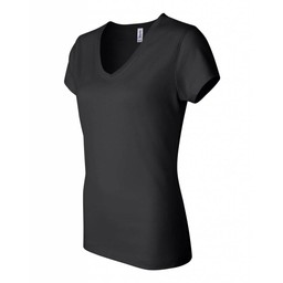 Blaze Baseball Academy Bella + Canvas - Women's Short Sleeve Jersey V-Neck Tee - 6005