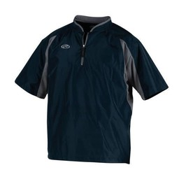 Rawlings Men's Short Sleeve Jacket 1/4 Zip Front- TOCCJ