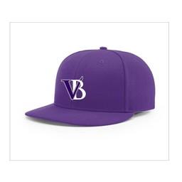 Blaze Baseball Academy -  Richardson PTS65 Fitted - Purple Cap