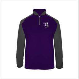 Blaze Baseball Academy Badger Ultimate SoftLock Sport 1/4 Zip - 4006