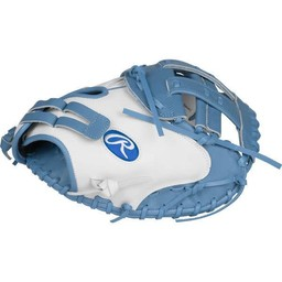 "Rawlings Liberty Advanced Color Series 33"" Fastpitch Catcher's Mitt - RLACM33FPWCB"