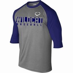 WRHSBB Evo Shield 3/4 Sleeve Performance Baseball Shirt -WTV102402