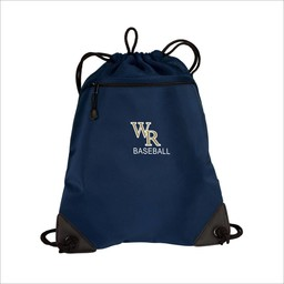 WRHSBB Port Authority - Cinch Pack with Mesh Trim: BG810