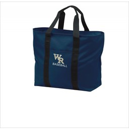 WRHSBB Navy All Purpose Tote - B5000