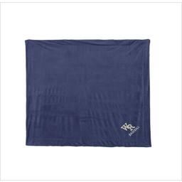 WRHSBB Alpine Fleece Navy Micro Mink Sherpa Blanket - 8712