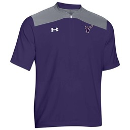 Valencia Baseball Under Armour Men's Triumph Purple Cage Jacket - 1287619