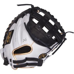 "Rawlings Liberty Advanced Color Series 33"" Fastpitch Catcher's Mitt - RLACM33FPWBG"