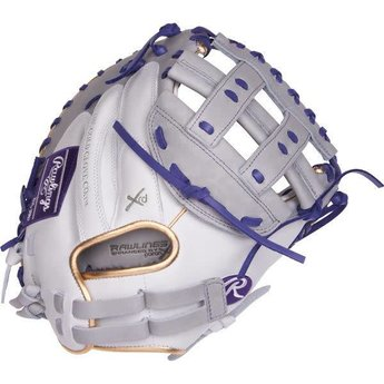 "Rawlings Liberty Advanced Color Series 33"" Fastpitch Catcher's Mitt - RLACM33FPWPU"