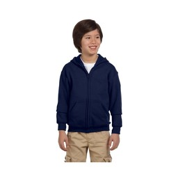 Gildan Youth Full Zip Hooded Sweatshirt - G18600B