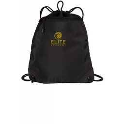 Elite Academy Port Authority - Cinch Pack with Mesh Trim - BG810