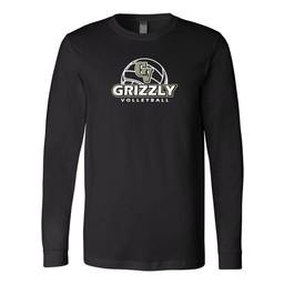 GVHS Volleyball Bella + Canvas - Long Sleeve Jersey Tee - 3501
