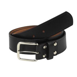 Palmdale HS Baseball TCK Adult Black Leather Belt