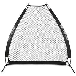 PowerNet A-frame Pitching Screen - BLACK