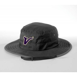 Valencia Baseball Richardson Wide Brim Bucket Hat 810 Black