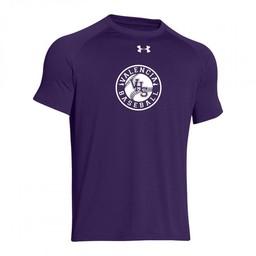 Valencia Baseball UA Tech Tee Purple