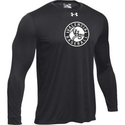 Valencia Baseball UA Tech Long Sleeve Tee Black