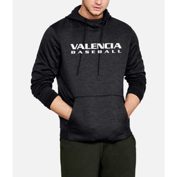 Valencia Baseball UA Armour Fleece Twist Hoodie - Black