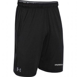 "Valencia Baseball  UA Raid Short 10"" - Black"