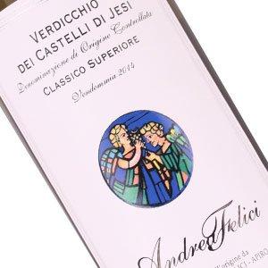 Andrea Felici 2015 Verdicchio Dei Castelli Di Jesi Classico Superiore, Marche