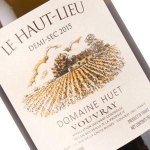 Domaine Huet 2015 Le Haut-Lieu Demi-Sec 2015 Vouvray, Loire Valley