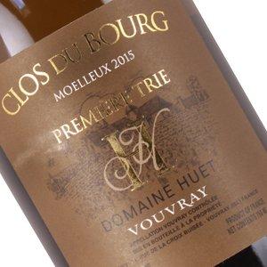 Domaine Huet Clos du Bourg 2015 Moellux Vouvray
