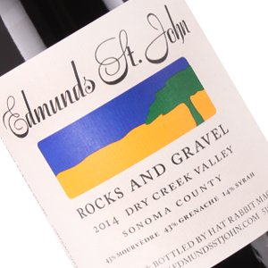 "Edmunds St. John 2014 ""Rocks and Gravel"" Red Blend Dry Creek Valley, Sonoma County"