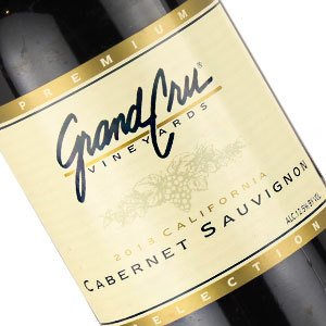 Grand Cru Vineyards 2014 Cabernet Sauvignon, California