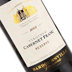 Barboursville Vineyards 2014 Cabernet Franc Reserve, Virginia