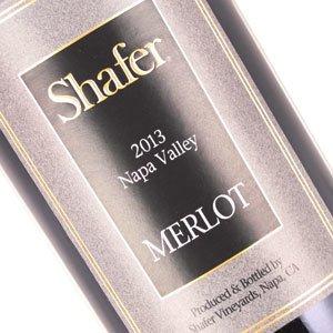 Shafer Vineyards 2013 Merlot, Napa Valley