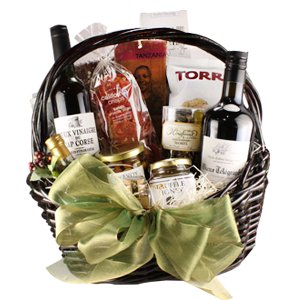 The Gourmand Gift Basket